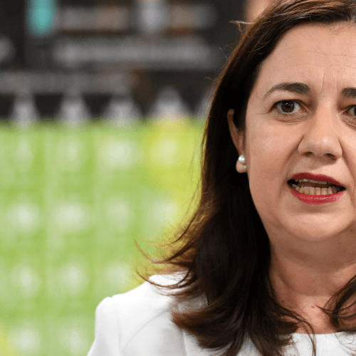 Even Mark's Jealous Of Annastacia Palaszczuk Meeting A Celeb