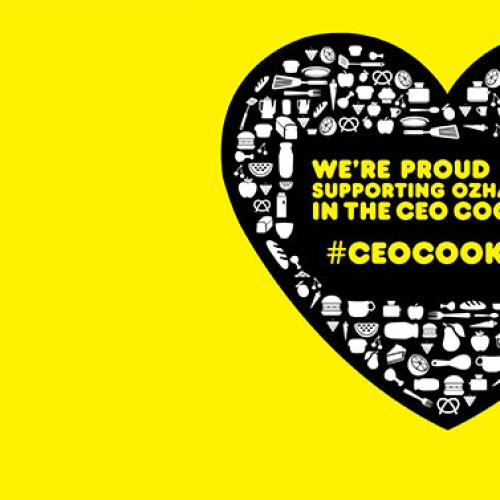 We're Stoked To Support The OzHarvest Ceo CookOff!