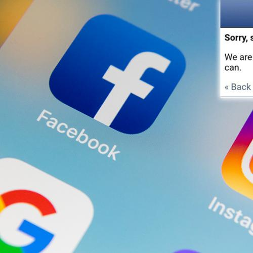 Facebook And Instagram Both Down This Morning