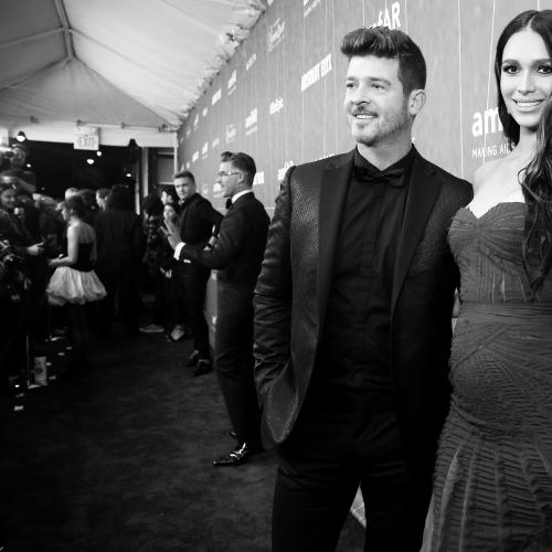 Robin Thicke And Fiancee Welcome Baby Number 2 Into World