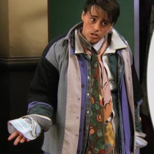 This $9,000 Jacket Is Giving Us Major Joey Tribbiani Vibes