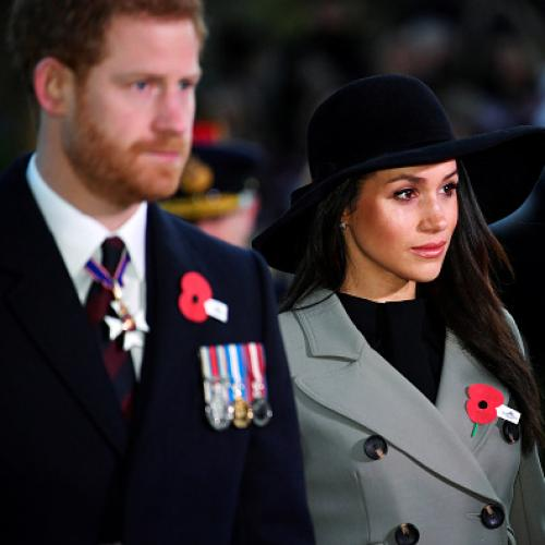 Harry, Meghan Honour Anzac Dead In London