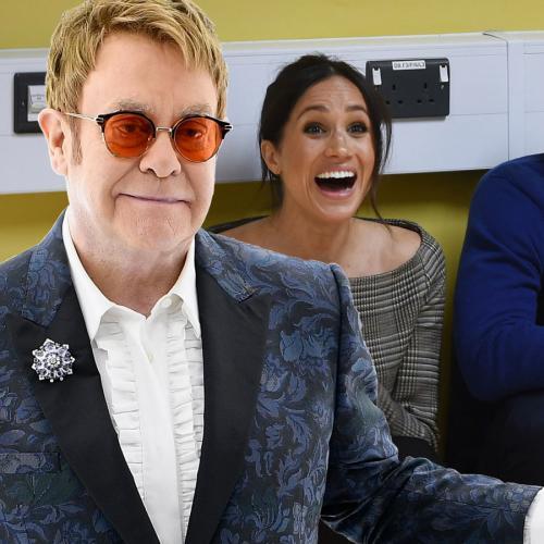 Elton John Slams Media Attacking Prince Harry And Meghan Markle