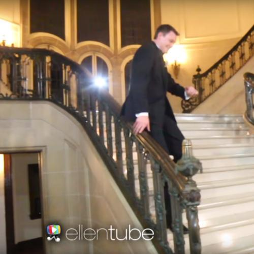 These Wedding-Goers Take 'Falling' In Love Literally
