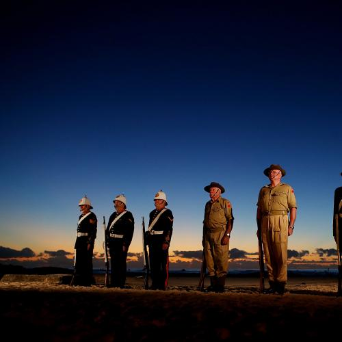 John Goss Gives Us One Way To Celebrate Anzac Day This Year
