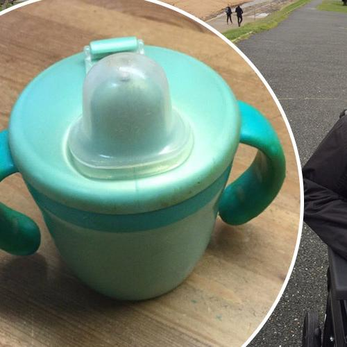 Father's Plea For Help To Find Sippy Cup For Autistic Son