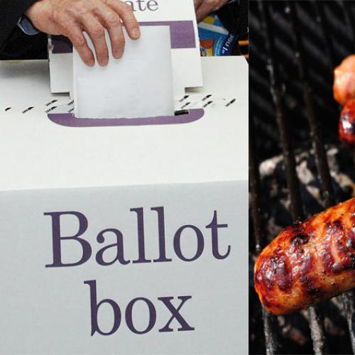 Find The Best Sausage Sizzle Near You When You Vote Saturday