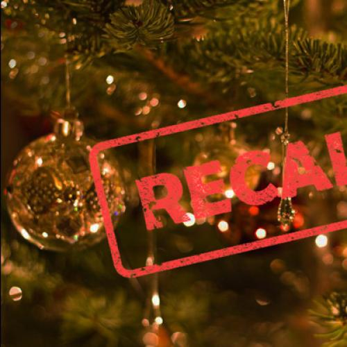 Home Christmas Lights Product Recalled Over Electrical Issue