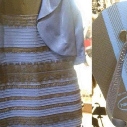 Remember The Dress? We Don't Know The Colour Of These Thongs