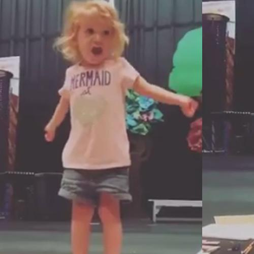 Girl Goes Viral After Her Dramatic Performance Of Abc