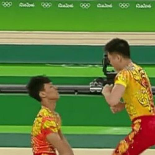 This Chinese Gymnastics Routine Is Hilariously Impressive