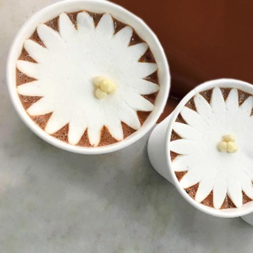 These Marshmallows Blossom Into Flowers In Hot Chocolate