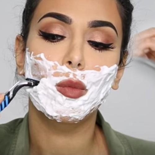 Why Makeup Artists Are Telling You To Shave your Face