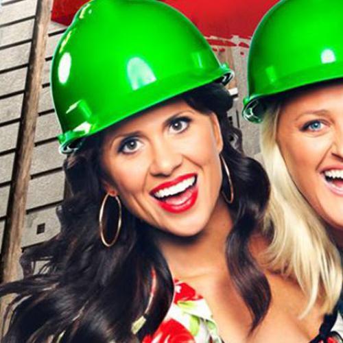 We Hit The Showers With Block Stars Julia and Sasha