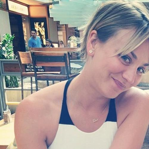 Kaley Cuoco Thanks Paps For Best-Worst Photo