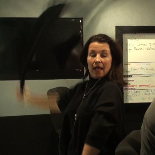 Behind The Scenes: When The Phones Go Down In Studio