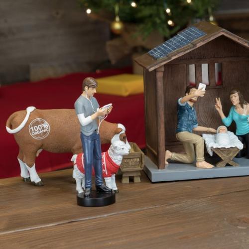 Modern Day Nativity Scene Is Proof We've Hit Peak Hipster