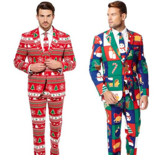 These Christmas Themed Suits Are EVERYTHING!
