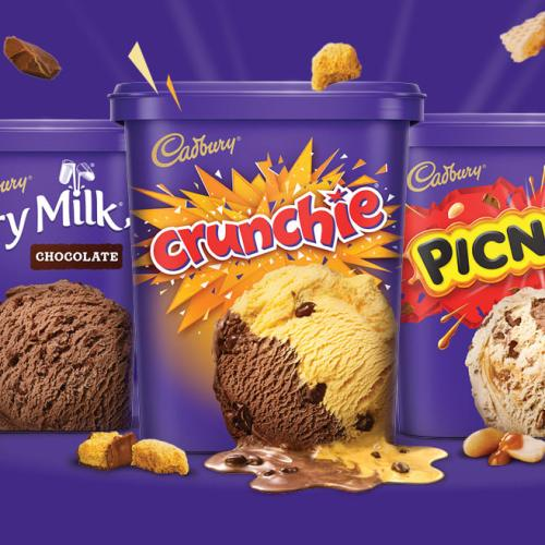 Your Fave Cadbury Chocs Are Now Entire Tubs Of Ice Cream