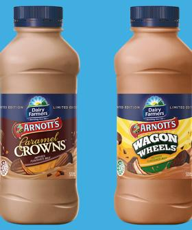 Wagon Wheels And Caramel Crowns Flavoured Milk Now Exists