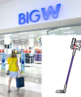 Big W Is Selling A Dyson Vacuum For Super Cheap In Their Black Friday Sale