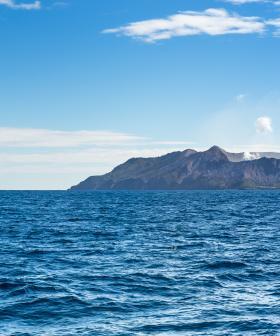 BREAKING: Volcano Erupts Off New Zealand Coast