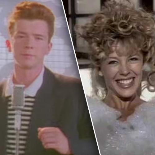 Is This PROOF That Rick Astley And Kylie Minogue Are The Same Person?