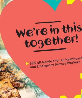 Nando's Are Giving 50% Off To All Healthcare and Emergency Workers