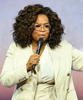 Oprah Winfrey Falls While Talking About 'Balance' At Her Speaking Tour