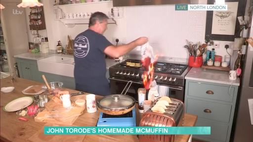 Here's what happens when a cooking segment goes wrong on live TV!