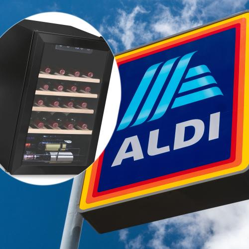 ALDI Is Bringing Out A Mini Wine Fridge That Holds 28 Bottles Of Goodness