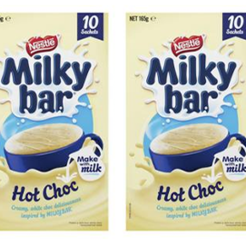 Milkybar Hot Chocolate Now Exists Just In Time For Winter So Feel Free To Stay Home A Little Longer