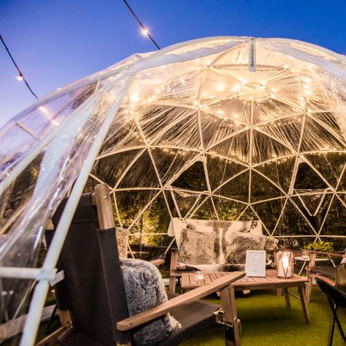 Take Post-Iso Dining to the Next Level With The 'Winter Igloo Garden' in Brisbane!