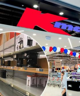 Kmart Shelves Stripped Bare Amid Coronavirus And Won't Be Restocked For Over A Month