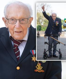 100-Year-Old Captain Tom Moore Hospitalised With Coronavirus