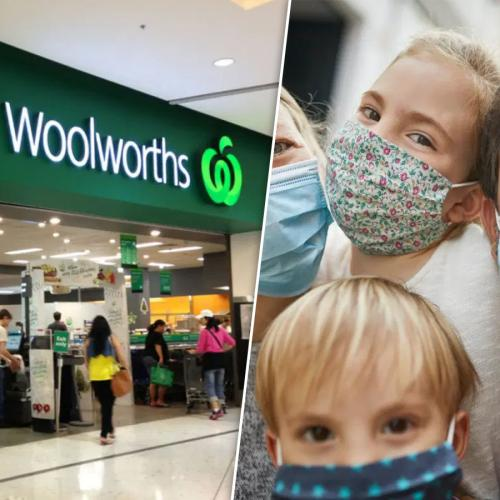 "Woolworths ""Strongly Encourage"" Shoppers And Staff To Wear Face Masks In QLD"