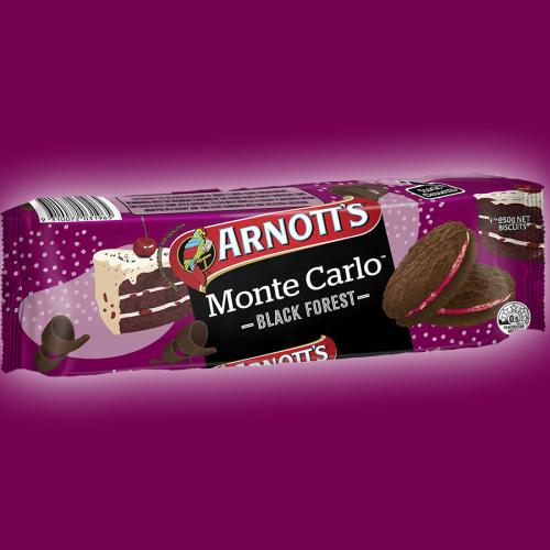 Excuse Me, Arnott's Released A Black Forest Monte Carlo??