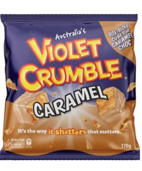 The World's Gone Topsy Turvy Because There's White Chocolate Caramel Violet Crumble!