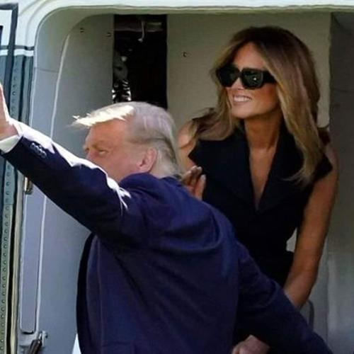 There Are Rumours That Donald Trump Is Appearing In Public With A Fake Melania Trump