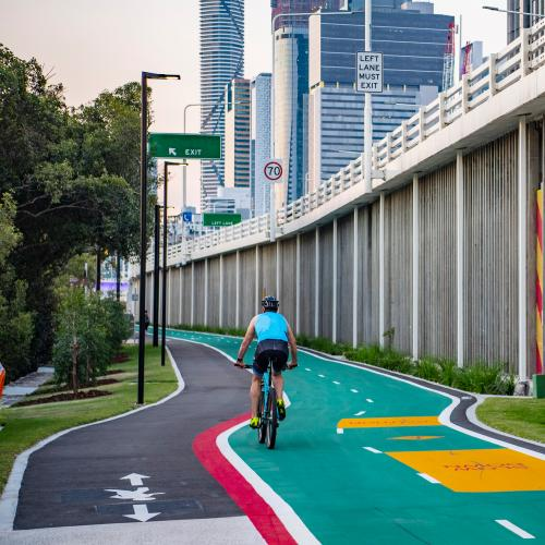 """The Biggest Change to Brisbane CBD Streets in 30 Years"": CityLink Cycleway"