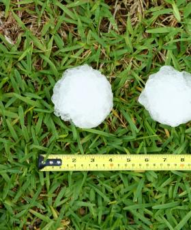 Queensland's Weekend Hail Storms Declared A 'Catastrophe'