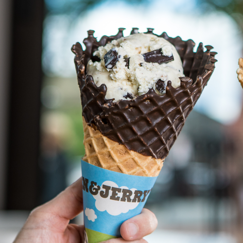 Ben & Jerry's Are Slinging 35,000 Free Scoops of Cookie Dough Ice Cream