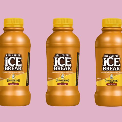 Ice Break Iced Coffee Now Has A Bundaberg Spice Rum Flavour!