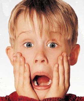 Macaulay Culkin's New Face Mask Will Make You SCREAM!