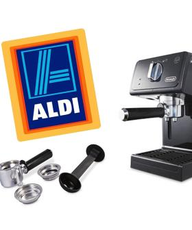 Aldi's Special Buy's Means An Impressive Espresso Machine Is Going For CHEAP!