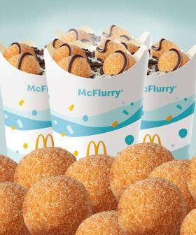 Macca's Has Introduced A Donut Ball McFlurry To It's UberEATS Menu!
