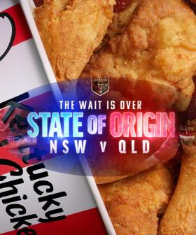 You Can Get Free Delivery On KFC During State Of Origin Games!