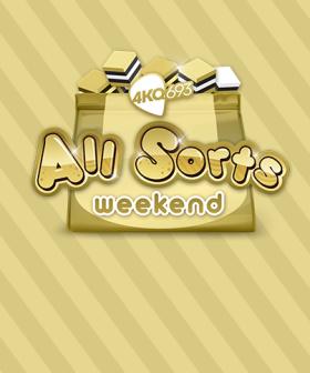 All Sorts Weekend! 20-21 February 2021