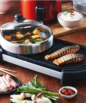 Aldi Has A $58 Hot Pot & Grill Contraption Which Will Change How You Do Dinner