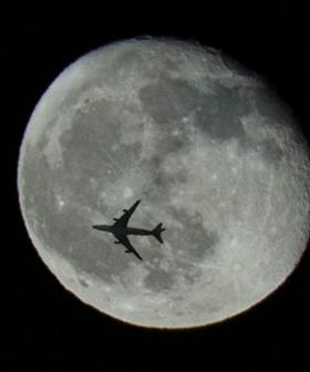 Qantas Is Planning A Special Flight To See This Month's Super Moon And Eclipse